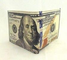 buycrafty indischen New 100Dollar $ Note Währung Falttür Leinwand Wallet New Design (Indische Währung)