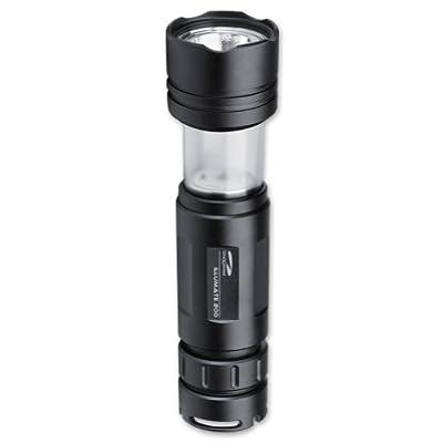 LiteXpress Stretchleuchte Illumate 200, Aluminium-Taschenlampe, 1 Cree Hochleistungs-LED bis zu 83 Lumen, Leistungsangabe nach ANSI-Standard, schwarz von LiteXpress bei Lampenhans.de