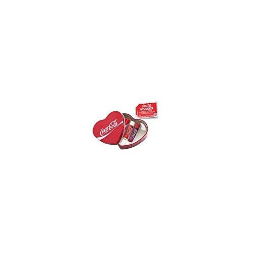 Lip Smacker Étain En Forme De Coca Baumes Cola 3 Pièce Coeur (Pack de 6)