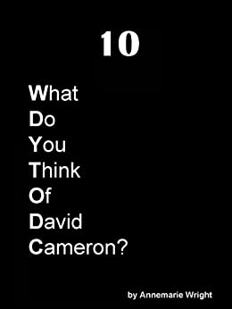 What do you think of David Cameron? by [Wright, Annemarie]