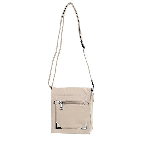 Mahel, Borsa a tracolla donna Beige (beige)