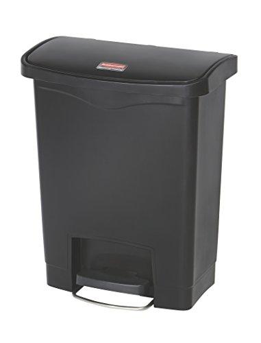 rubbermaid-slim-jim-1883609-30-litre-front-step-step-on-resin-wastebasket-black