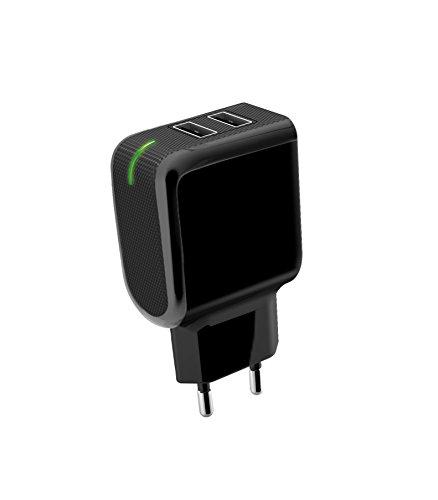 Meliconi Caricabatterie da Viaggio con Doppia USB