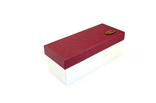 WEAF-Boîte Cadeau boîte rectangulaire Grande Entreprise Fort Anniversaire Box,23 * 9 * 8.5, Rouge