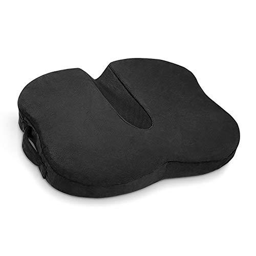 AWAKMER Sitzkissen mit Gel für Rückenschmerzen, Steißbein und Ischias, belüfteter Memory-Schaum für hervorragende Unterstützung und Komfort (45,5 x 38 x 6 cm)