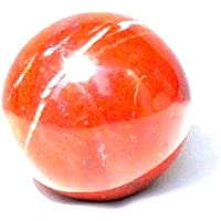 Healing Crystals India®: Natürlicher roter Jaspis, 40–50 mm, poliert, Kristallkugel Metaphysische Heilung, Mineralstein... preisvergleich bei billige-tabletten.eu