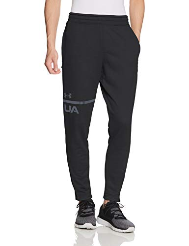 Under Armour Herren Hose Tech Terry Tapered Pant, Schwarz (Black/Anthracite 001), S -