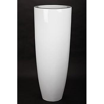 für Innen Pflanzkübel aus Fiberglas point-home Blumentopf weiß 91cm