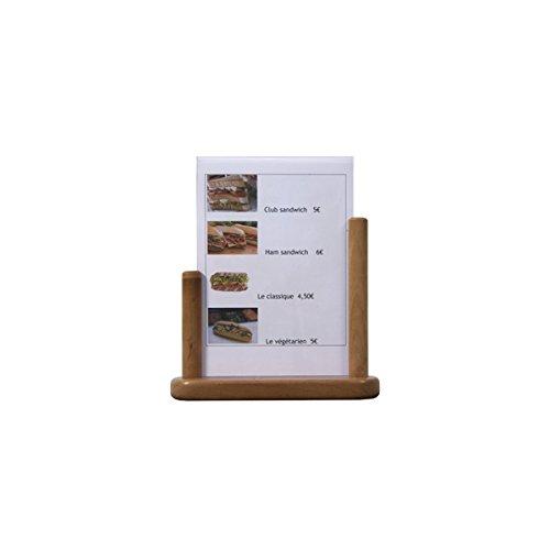 genware-nev-te-la-pft-tovaglia-in-pvc-con-inserto-in-legno-di-tek-grande-21-x-30-cm
