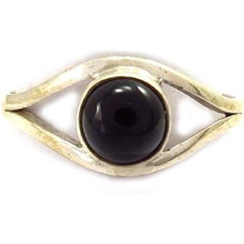 Plata ring 'Charmes' onyx.