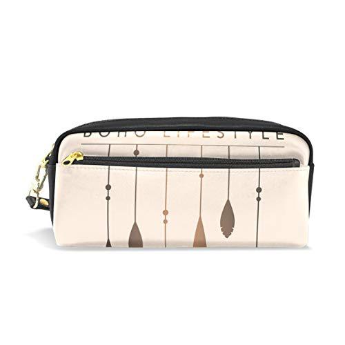 Estuche para lápices con cremallera grande bolsa de maquillaje moderno Nordic Minimalista atrapasueños bolsa de lápices caja para niños y niñas suministros escolares