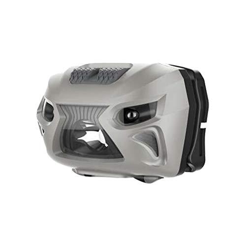Webla - LED de inducción faro recargable sensor de movimiento faro usb camping faro lámpara antorcha de pesca