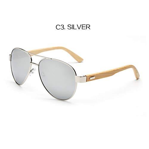 WDDYYBF Sonnenbrillen Sonnenbrillen Sonnenbrillen Handgefertigte Bambus Holz- Brille Brillen Gestell...