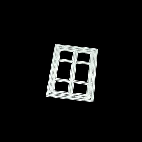 Luluspace Stanzschablonen Metall Schneiden Schablonen Für DIY Scrapbooking Album, Schneiden Schablonen Papier Karten Sammelalbum Dekor- Fenster