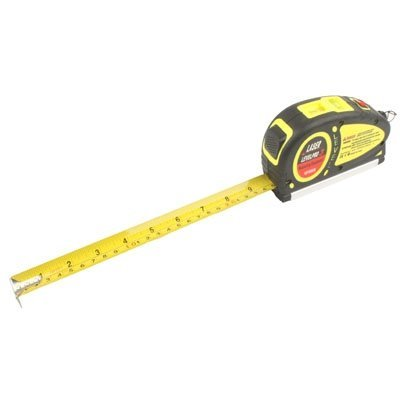 Skywalk 5Mw Laser Level+ Spirit Level + 5.5M 18F Retractable Measuring Tape Multi Function Tool,Laser Level With Tape Measure Pro (550cm)