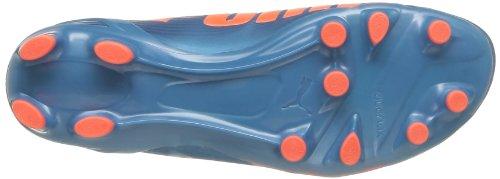 Puma  evoSPEED 2.2 FG, Chaussures de foot pour homme bleu Blau (sharks blue-fluro peach-fluro yellow 05)