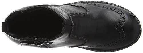 Primigi Jungen Oxfy 1-g Chelsea Boots Schwarz (Black)