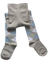 Weri Spezials. Baby und Kinderstrumpfhose. Romben Muster.