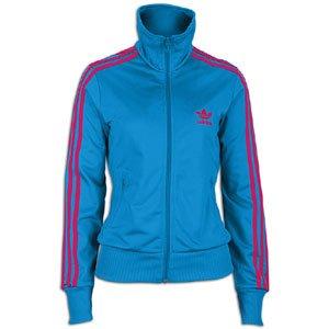 Adidas Damen Firebird Grun Track Top, damen, A, aqua (Adidas Firebird Jacke Blau)