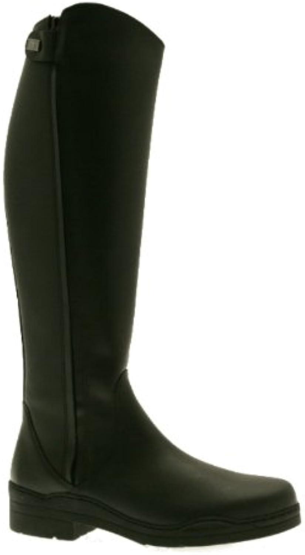 Derby Tuffa Botas ecuestres, color negro, talla anchos-40