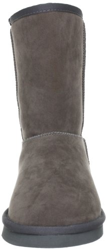 Buffalo Girl 238892 SY SUEDE, Bottes femme Gris-TR-DQ