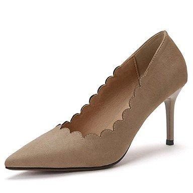 Zormey Frauen Heels Frühling Sommer Herbst Club Schuhe Comfort Fleece Büro & Amp; Karriere Party & Amp; Abendkleid Stiletto Heel Walking US4-4.5 / EU34 / UK2-2.5 / CN33