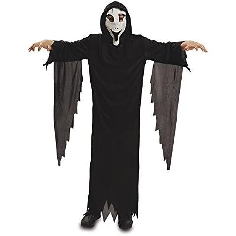 My Other Me - Disfraz de fantasma con máscara, para niños de 5-6 años (Viving Costumes MOM00108)