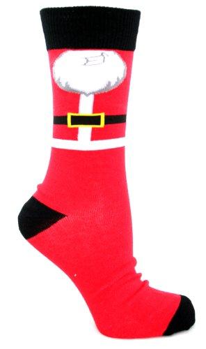 Da uomo Natale Calze UK 6-11EU 39-45 Red - Santa 40- 45
