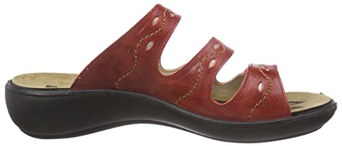 ROMIKA Ibiza 66, Mules femme Rouge (Red)