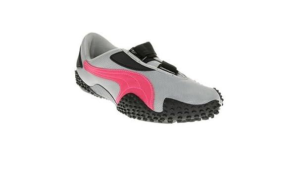 bd189b6e0534 Puma Mostro Mesh Grey - Berry 5UK - 38EU  Amazon.co.uk  Shoes   Bags