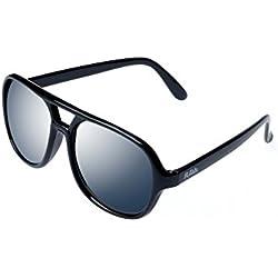 """ALPLAND Pilotenbrille Sonnenbrille Aviator Style """" TOP GUN """" Schwarz"""