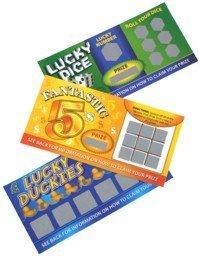 3 Fake Winning Scratch Cards by NCWholesale ()