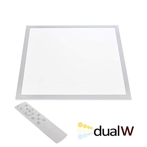 Panel LED 45W, Blanco DUAL, RF, 60x60cm, Blanco dual, Regulable