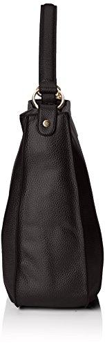 Stonefly Sacca Vally, Borse a Tracolla Donna Nero (Schwarz 000 BLACK)