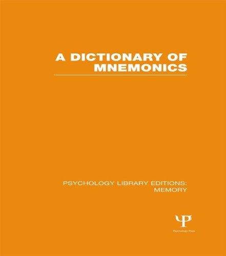 Dictionary pdf mnemonic