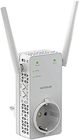 Netgear EX6130-100PES AC1200 WLAN Range Extender (Bis zu 1200 Mbit/s, Erweiterung von Erweitert 2,4- und 5-GHz-WLAN, 10/100-Mbit/s-Fast-Ethernet-Port)