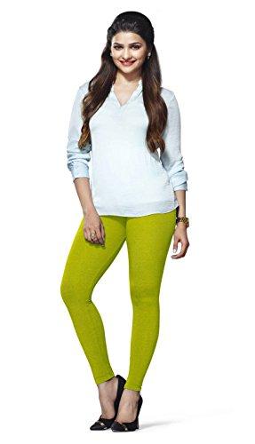 Lux Lyra Women\'s Ankle Length Leggings - Parrot Green