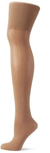 TESPOL figurformende und hochwertige Damen-Shaping-Feinstrumpfhose, 40 DEN natur, Gr. S (Große Strumpfhosen Formen)