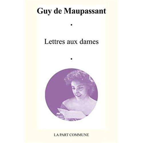 Lettres aux dames