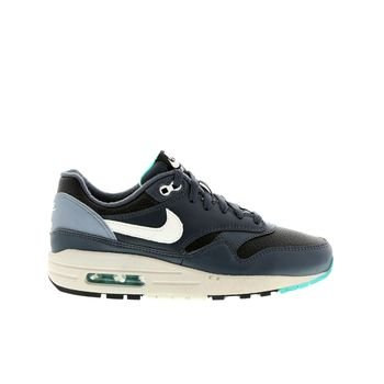 nike air max 1 (GS) trainers 555766 sneakers shoes (5 M US Big Kid, black ivory dark magnet grey 017)