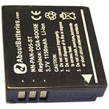 Batterie pour LEICA D-LUX4, 3.7V, 1100mAh, Li-ion