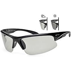 Arctica S-197FP UV400 Sonnenbrille, photochrom und polarisiert, für Damen und Herren