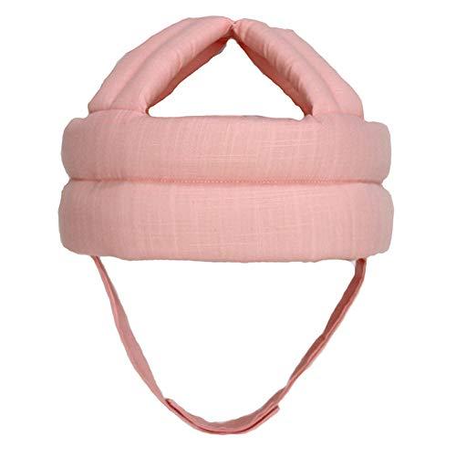 llhut Verstellbarer Kleinkindschutz Kopfschutz Schutzhelm Schutz Für Kleinkind Krabbeln Schutz Vor Der Ecke,Pink ()
