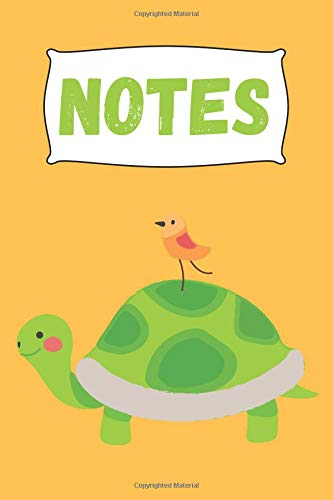 For Pages Adultchildren Writing6x9 Notebookjournal Ruled Lovers To NotesCute 120 Paper Composition Blank Turtle InchCollege Lined Animals E9IH2D