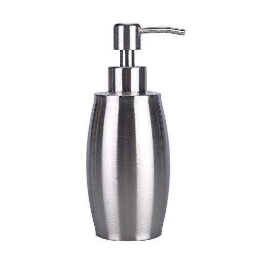 flintronic-dosatore-per-sapone-liquido-in-acciaio-inossidabile-per-cucine-bagni-argento-350ml