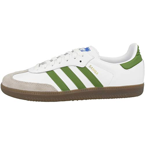 Adidas Samba OG White Green Brown 44