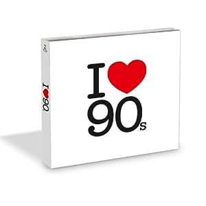 I Love 90s (inkl. Sticker)