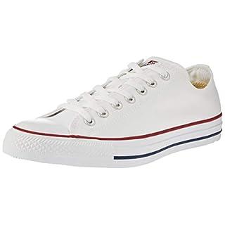Converse Unisex-Erwachsene Chuck Taylor All Star-Ox Low-Top Sneakers, Weiß (Optical White), 39 EU