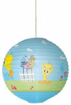 Pendelleuchte Kinder-Papier von Reis Tweety Tweety ohne Draht und Lampe -