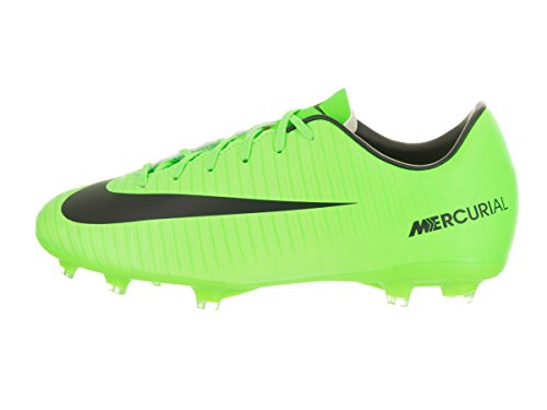 Nike Jr Mercurial Vortex Iii (V) Fg, Chaussures de Football Entrainement garçon ELECTRIC GREEN/BLACK-FLASH LIME-WHITE